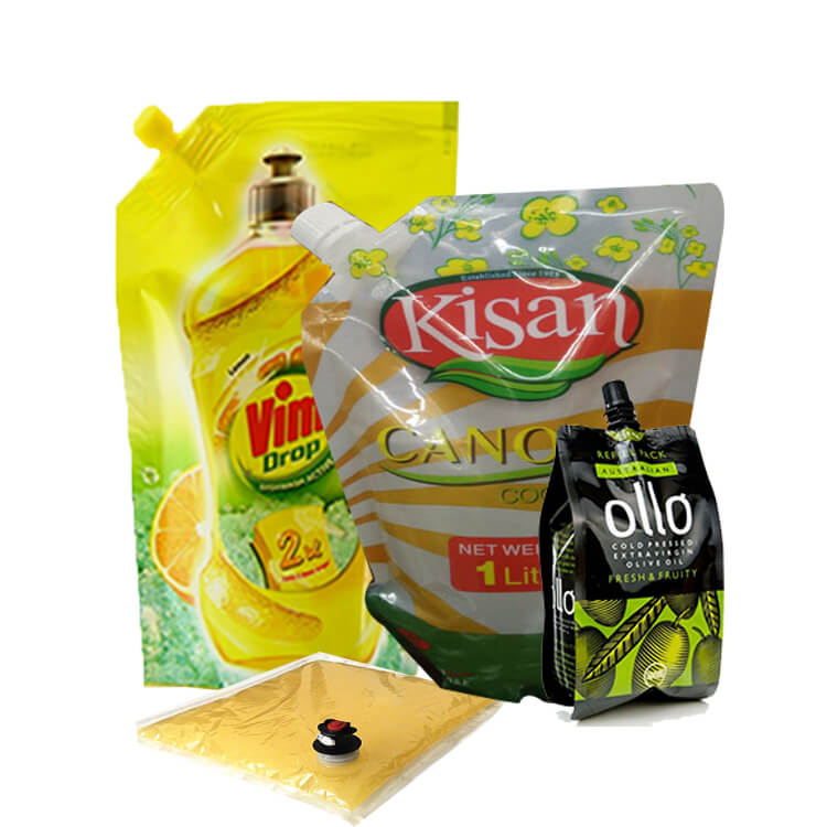 Oil packaging bags