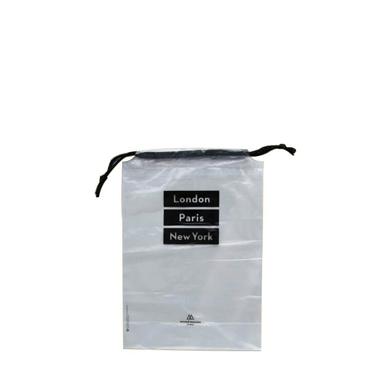 rope PE drawstring bag