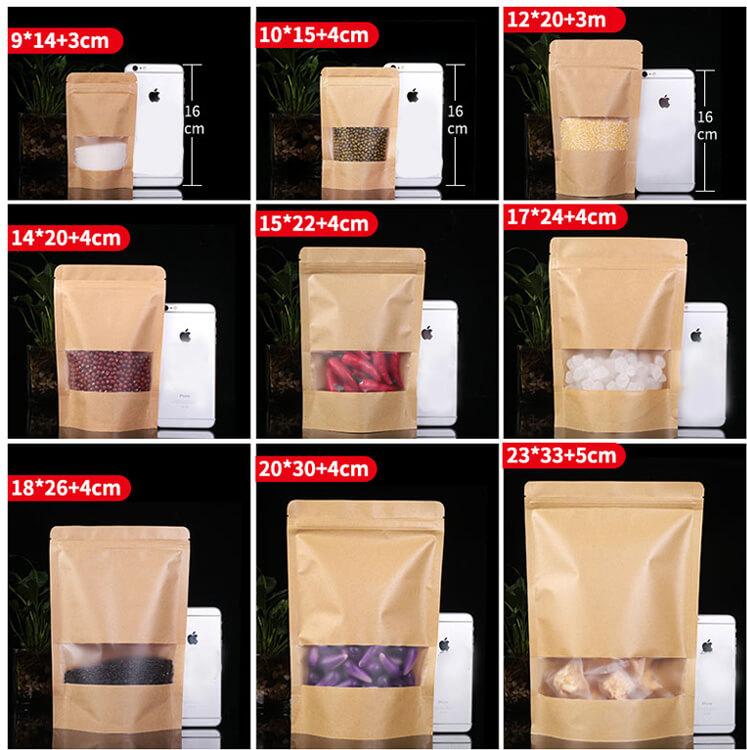 Kraft Stand Up Paper Bag