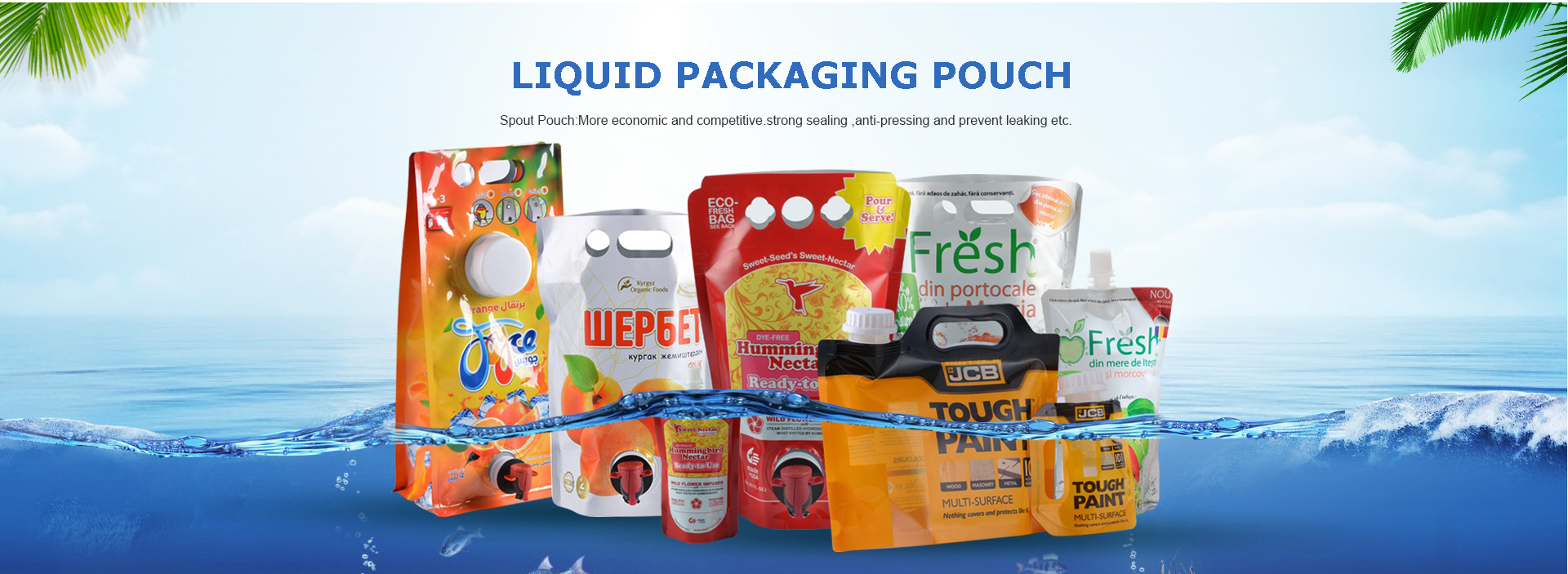 Liquid Packaging Pouch