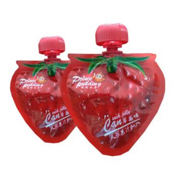 2019 Juice food stand up spout bag