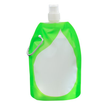 Collapsible water bottle wholesale/drinking water in plastic bag/food pouch