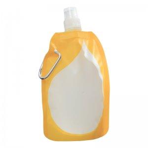 BPA Free 480ml Fashion Foldable Water Bottles plastic sports water bottle