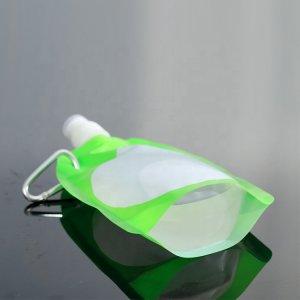Fashionable and beautiful foldable water bottle Flexible foldable water bottle