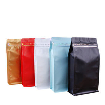 China suppliers heat seal food grade plastic bags box pouch packaging bags