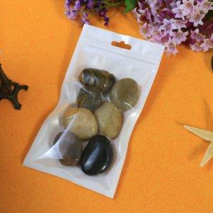 Factory Plastic Bag Food Packaging/ 3 Side Seal Zipper Bag