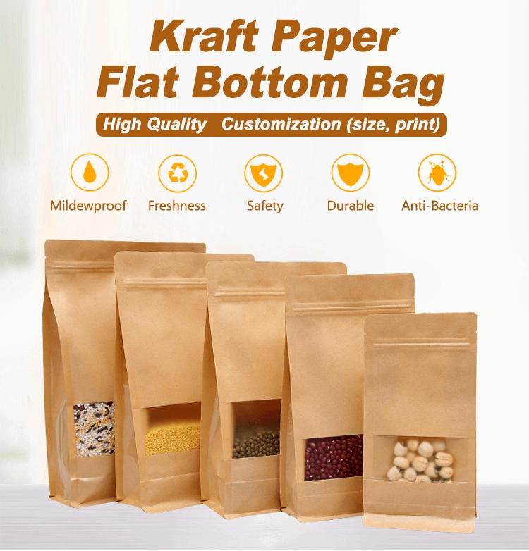 Kraft Paper Stand Up Bag