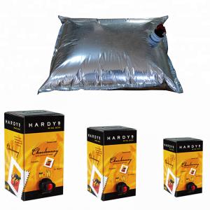Laminated Aluminum aseptic bag in box fruit juice bag in box