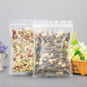 Factory Custom Printed Zipper Plastic Laminated Pearl Film Bag For Phone Case, Cable Data Pack