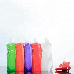 Premium quality sport water bottle plastic/foldable water bottle/foldable water bag