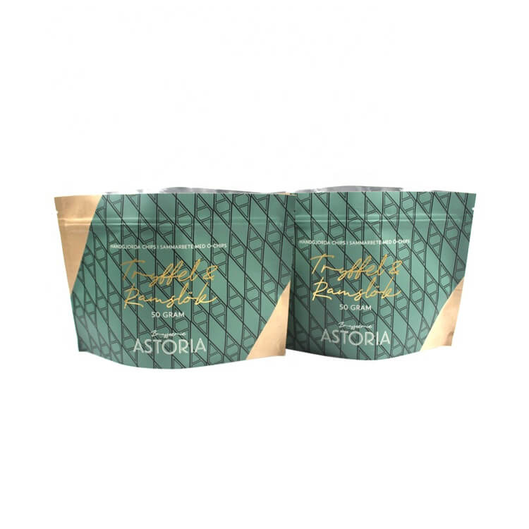 Biodegradable food packaging pouch bag