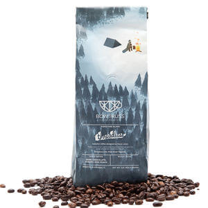 Aluminum Printed Side Gusset Coffee Pouch with Degass Valve