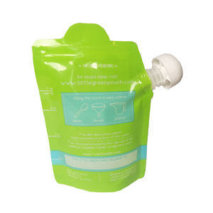 Baby food resuable pouch