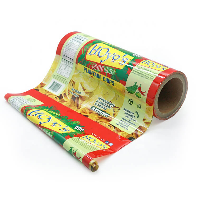 Chips Packaging Film Roll