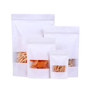 Customized printing flexible packaging stand up shaped pouch snack pouch