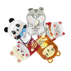 Customized snack pouch Shaped Pouch