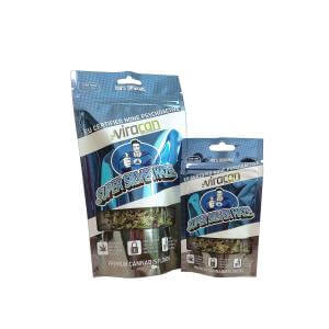 Flexible packaging pouches aluminum foil stand up snack pouches with ziplock
