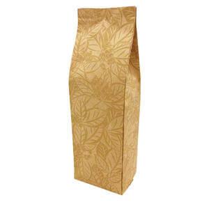 Plantation Patterned Gusseted Bag