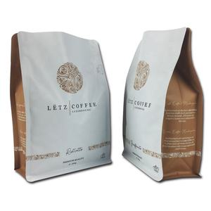 Side gusset coffee bags