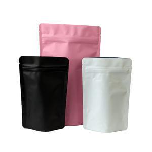 Stand up aluminum foil barrier pouch