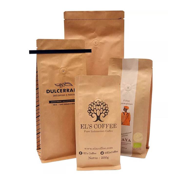 Karft paper coffee bag